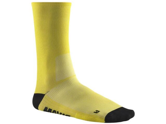 Mavic Essential Chaussettes hautes, yellow